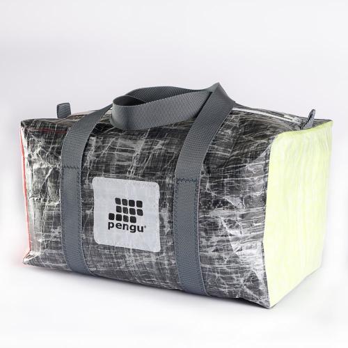 pengu ECO Sports Bag Black Neon